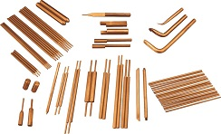 Aluminium Oxide Dispersion Strengthened Copper Rod Type: UE-ODSIII