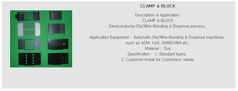 Clamp and Block