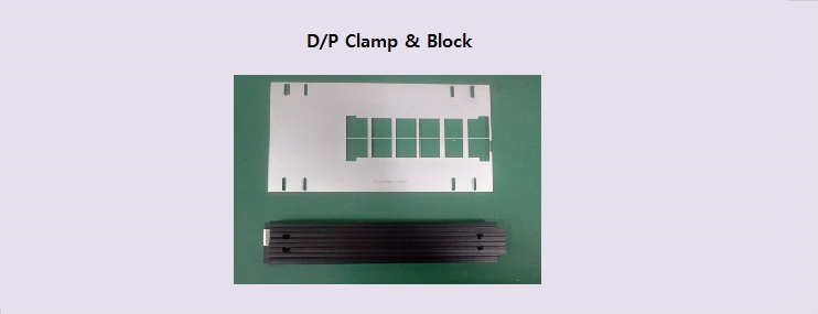 D/P Clamp and Block