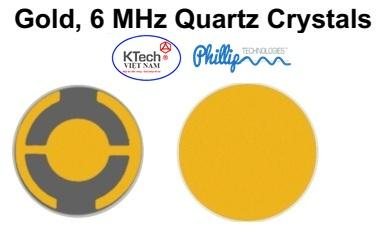 Quartz Crystals,Gold, 6MHz (TAN06RCG)